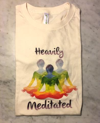 Men's Heavily Meditated T-Shirt - 100% Organic Cotton