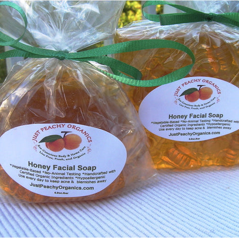 Honey Facial Soap - 100% Organic