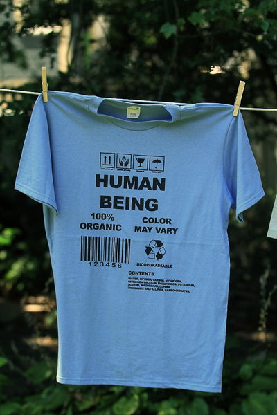 Human Being T-shirt for Men - Organic Cotton