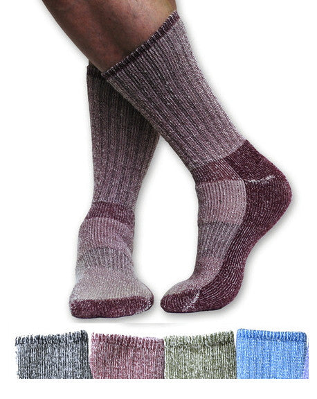 Killington Organic Merino Wool Hiking Socks - in four colors