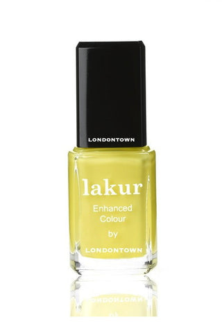 notting the fancy 5-free nail polish Londontown Yellow Nail Lakur