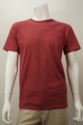 Organic cotton tee shirt, made in the usa
