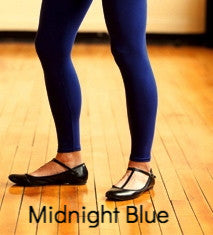 Organic Cotton Leggings Midnight Blue by Maggie's Organics | Upland Road