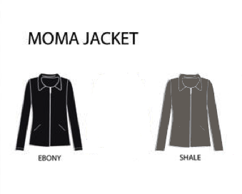 MOMA organic cotton jacket | Upland Road | sustainable women's clothing