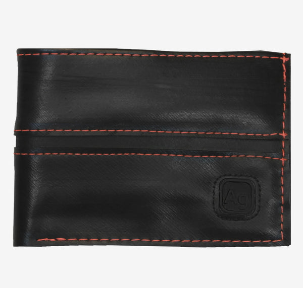 Franklin Wallet, Orange Alchemy Goods Wallet, Upcycled Innertubes wallet | Upland Road