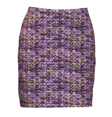 organic cotton mini skirt, 17.5 inches, Maggie's Organics | Upland Road