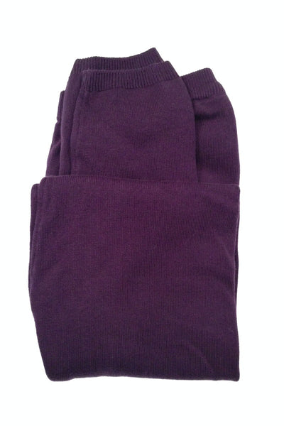 Brody 100% organic cotton Leggings - Purple, Fair-Trade from Ethos Paris