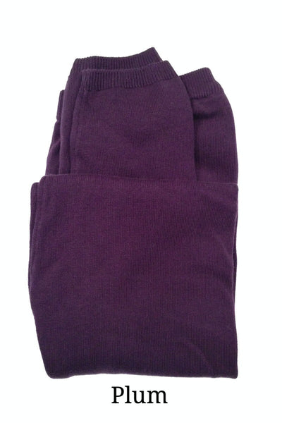 Brody 100% organic cotton Leggings - Purple, Fair-Trade