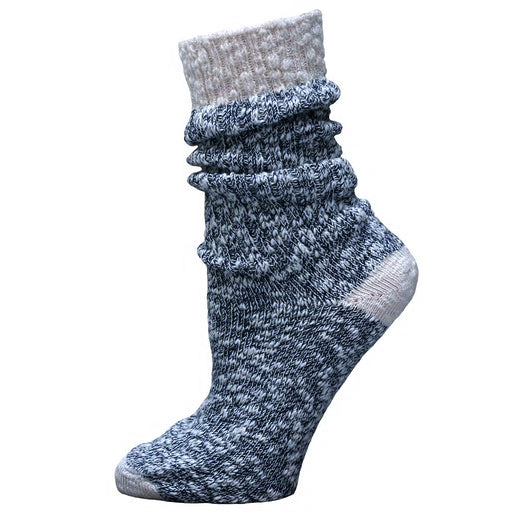 Organic Cotton Ragg Crew Socks by Maggies Organics