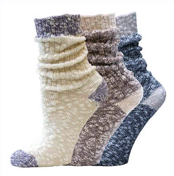 Organic Cotton Ragg Socks by Maggie's Organics