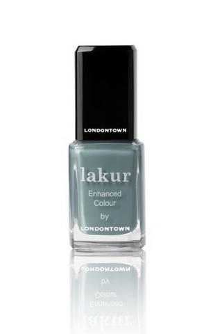 5-free blue nail polish by Londontown, Thames from the Eye