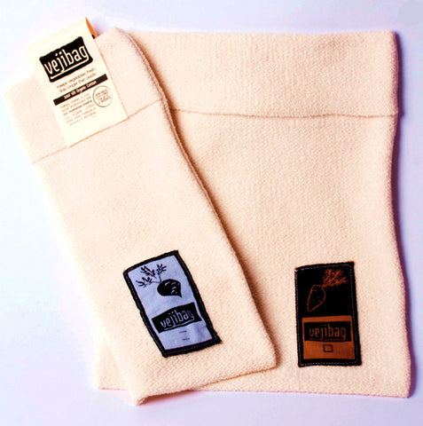 VejiBIG Undyed Organic Cotton Vegetable Bag
