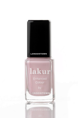 Waterloo Sunset 5-free Nail Polish, Eco-friendly Londontown Nail Lakur Light Pink