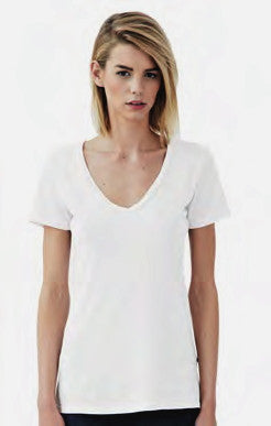 Women's Vee Organic Cotton by Groceries Apparel