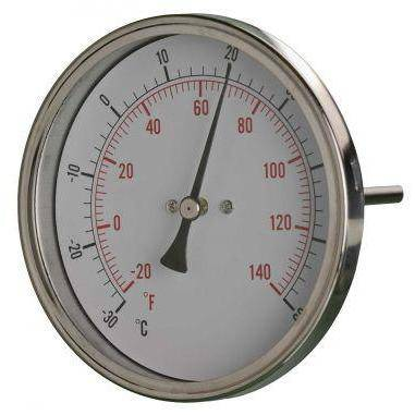100mm All Stainless Steel Thermometers