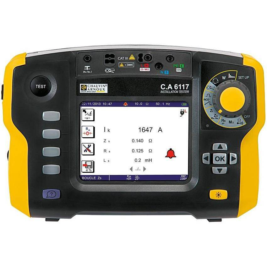 CA6117 - 17th Ed. Multi-function Tester