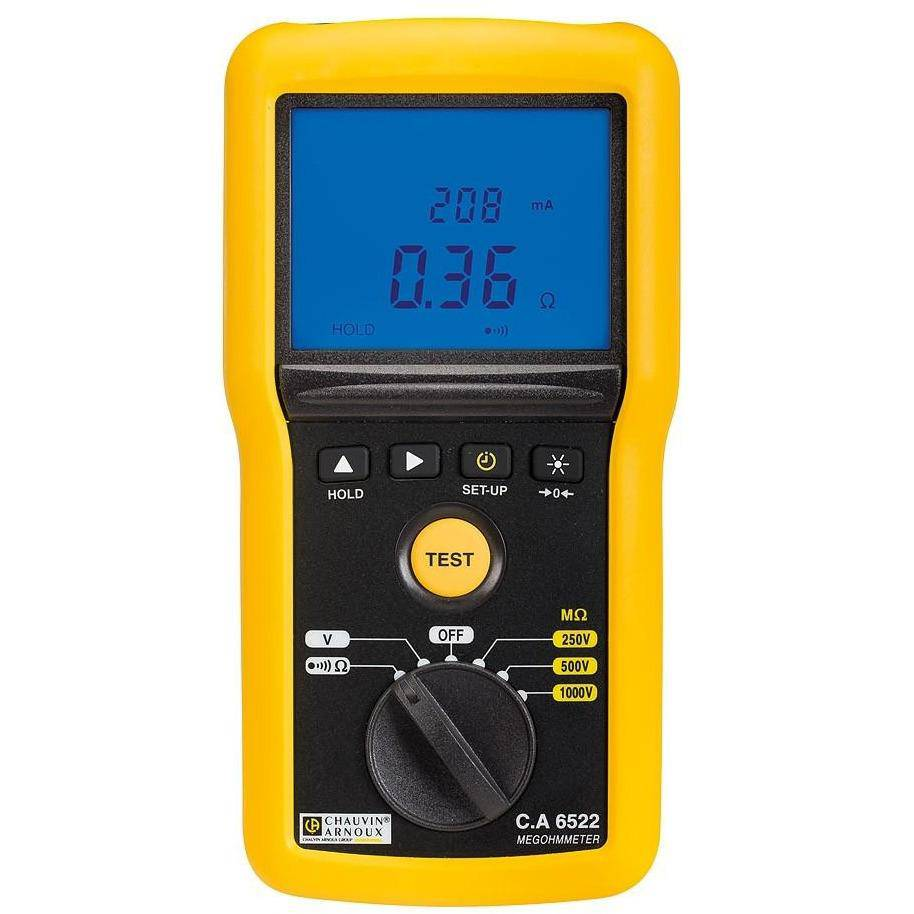 CA6522 - 40GΩ Insulation & Continuity Tester