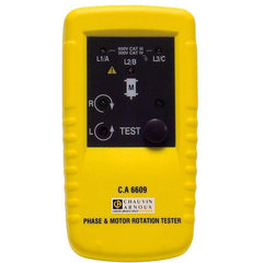 CA6609 - Phase & Motor Rotation Tester - GNW Instrumentation