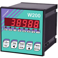 Laumas W200 Weight Indicator - GNW Instrumentation