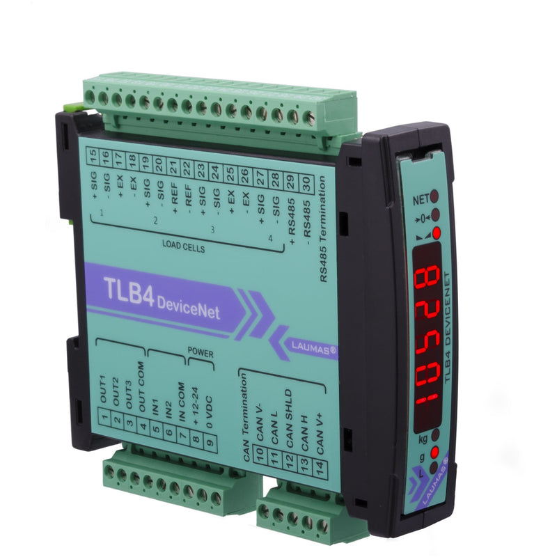 TLB4 DeviceNet Weight Transmitter - GNW Instrumentation