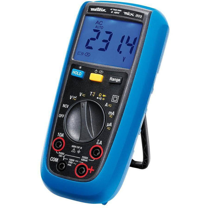 MTX 203 - Digital Multimeter with Thermocouple - GNW Instrumentation