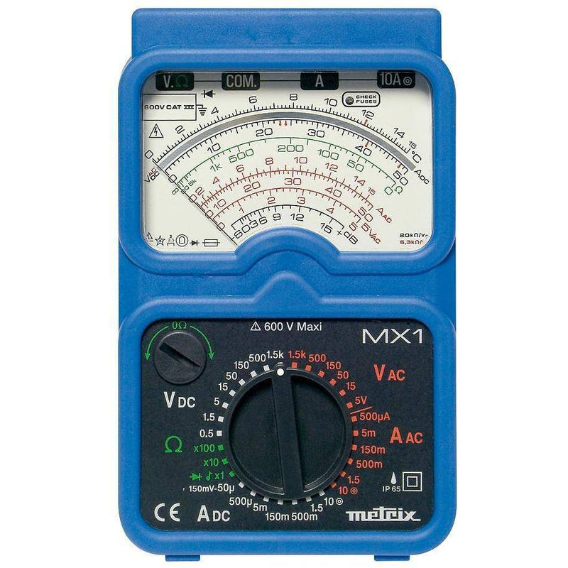 MX 1 Analogue Multimeter