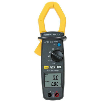 MX670 - Clampmeter, 2x 10,000 count, AC