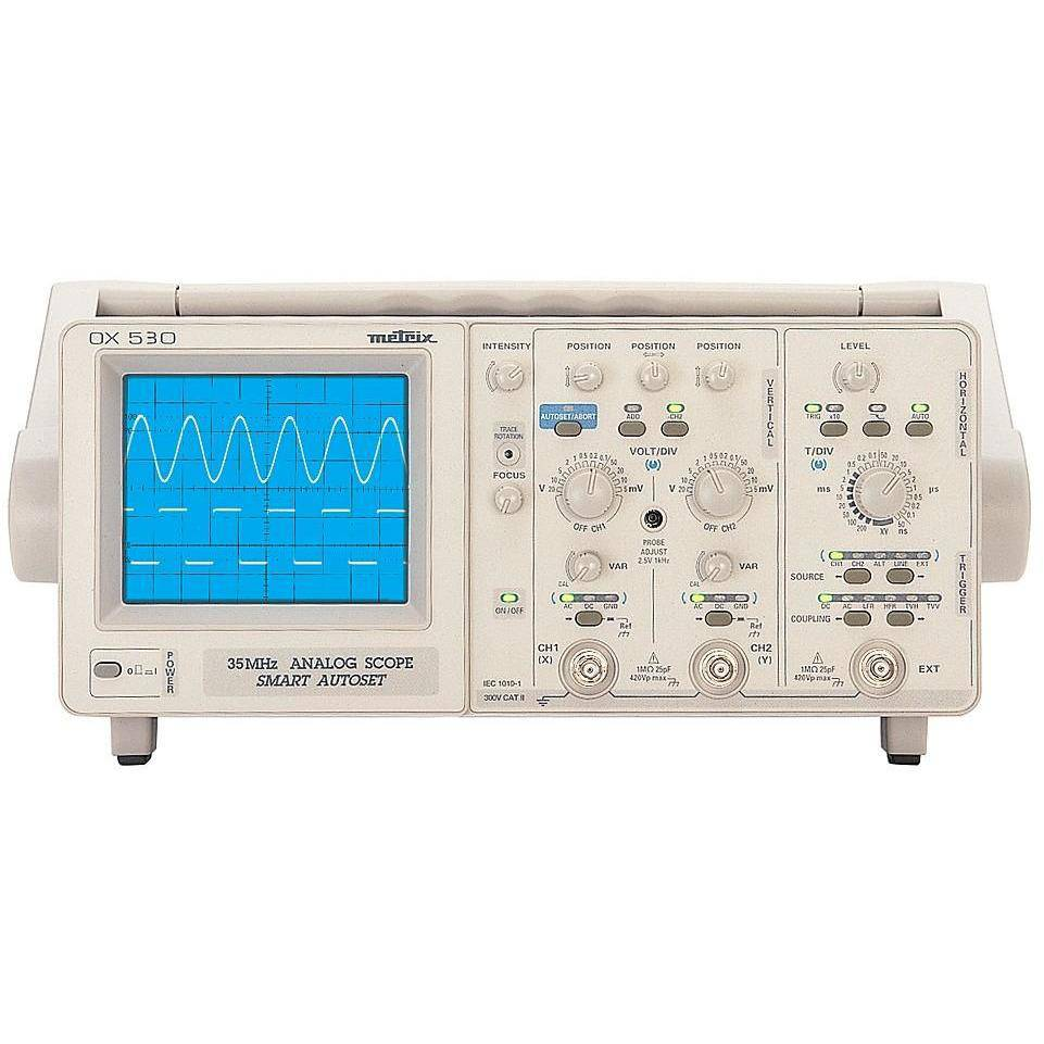 OX530 - 2 Channel 35 Mhz Oscilloscope