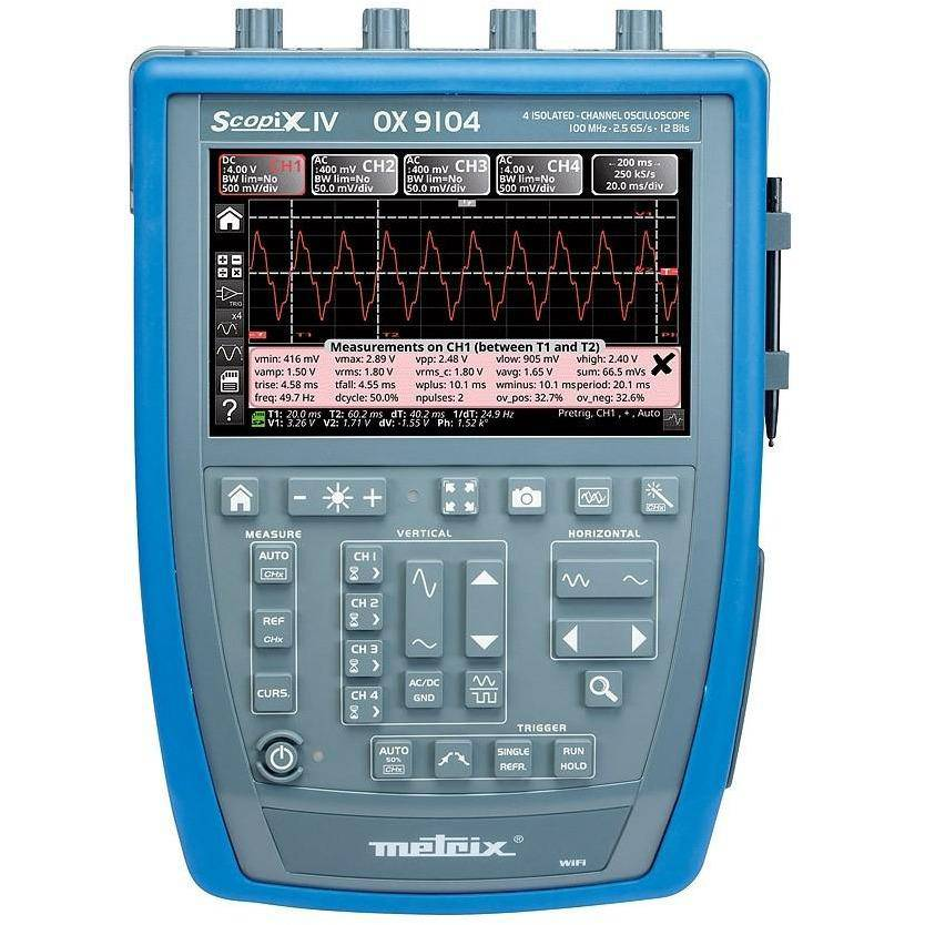 OX9304 - 4 Channel Oscilloscope 300Mhz