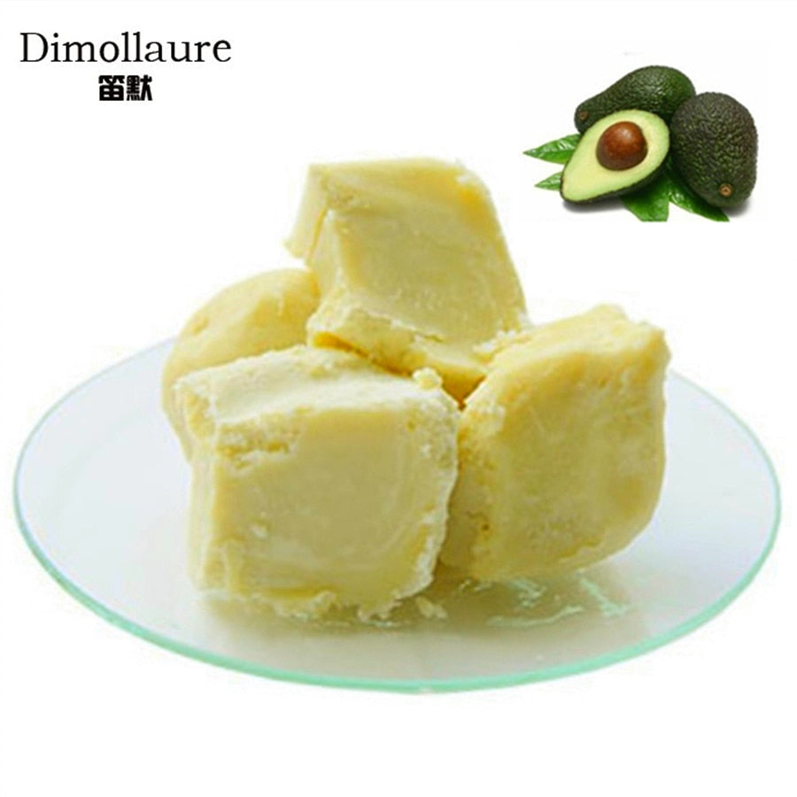 Dimollaure 50g Natural Organic Unrefined Shea Butter Oil Skin Care essential oil carrier oil Hair care handmade soap oil