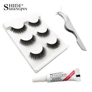 Eyelashes 3D Mink Lashes Bundle