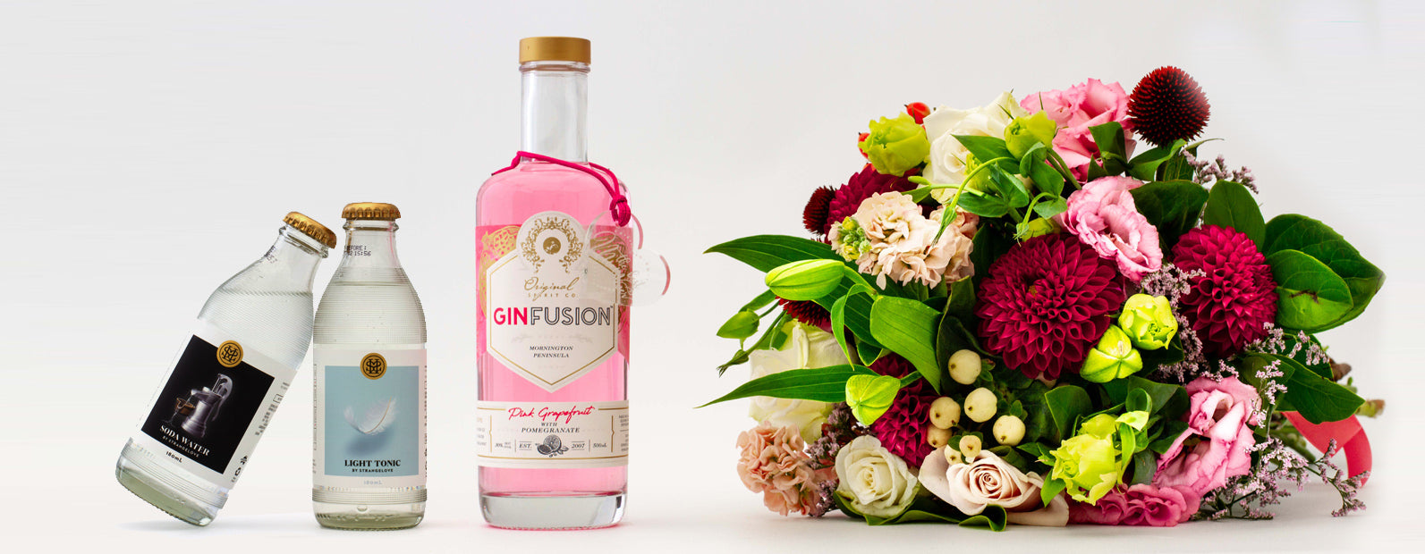 FREE HEART KEEPSAKE WITH EVERY BOTTLE OF PINK GRAPEFRUIT GINFUSINO