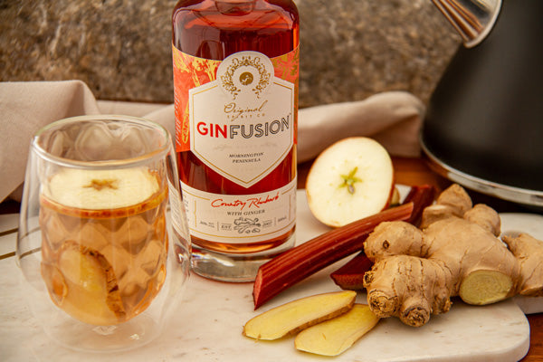 Rhubarb & Ginger Ginfusion Hot Toddy