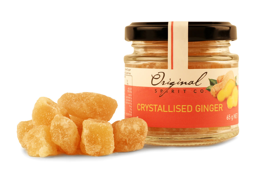 Country Rhubarb with Ginger Ginfusion - Crystallised Ginger Special