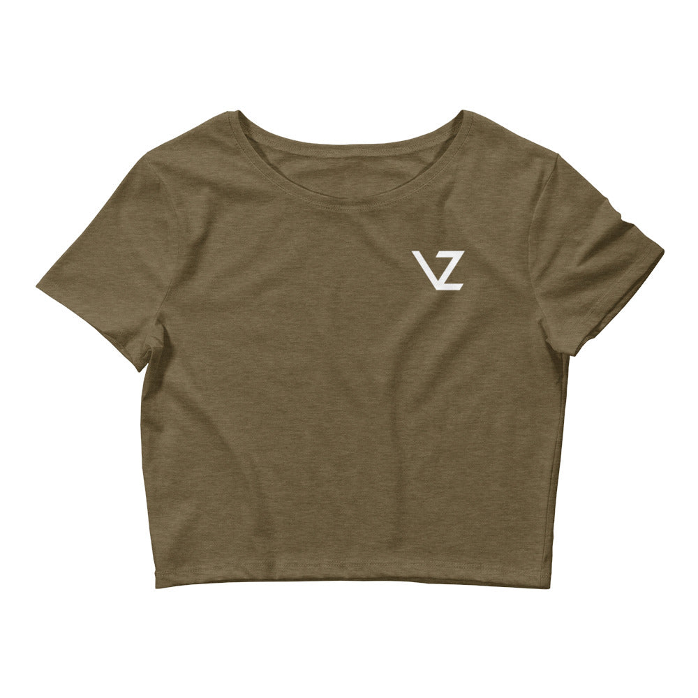 VZ Basics - Women's Crop Tee