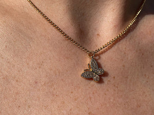 The Gold Butterfly Chain