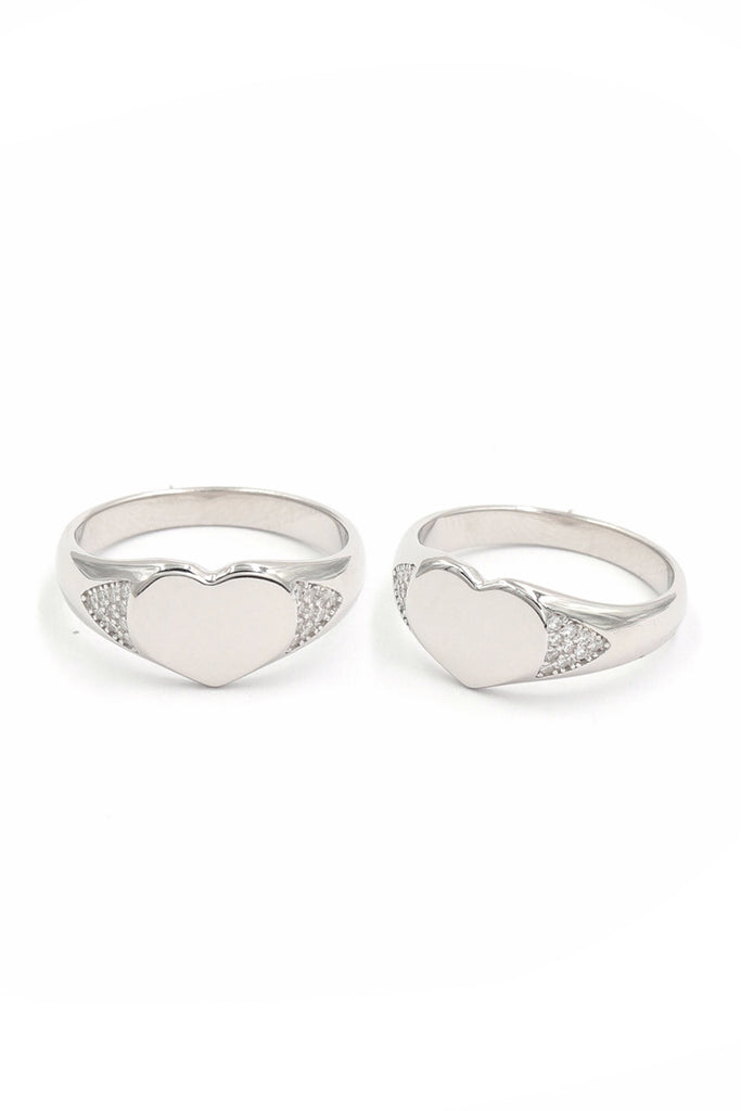 The Drippy Heart Ring (Engravable)