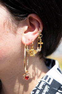 The Gold Sweetheart Earrings