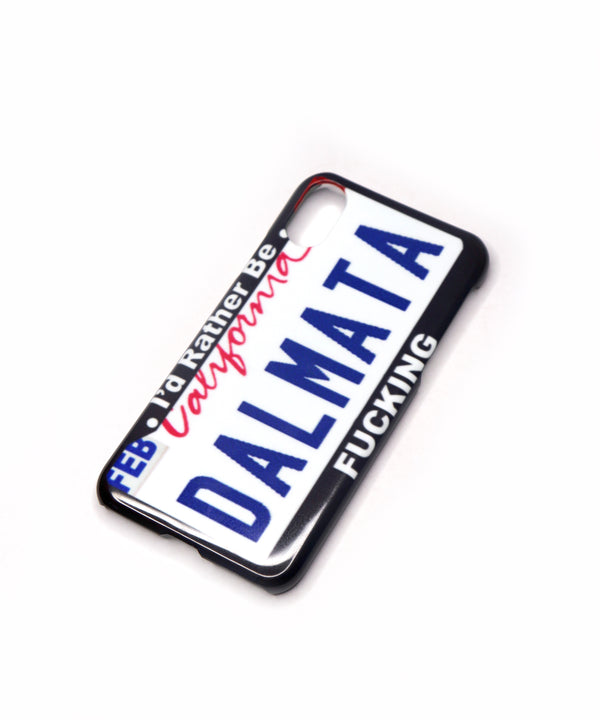 The DALMATA License Plate Phone Case