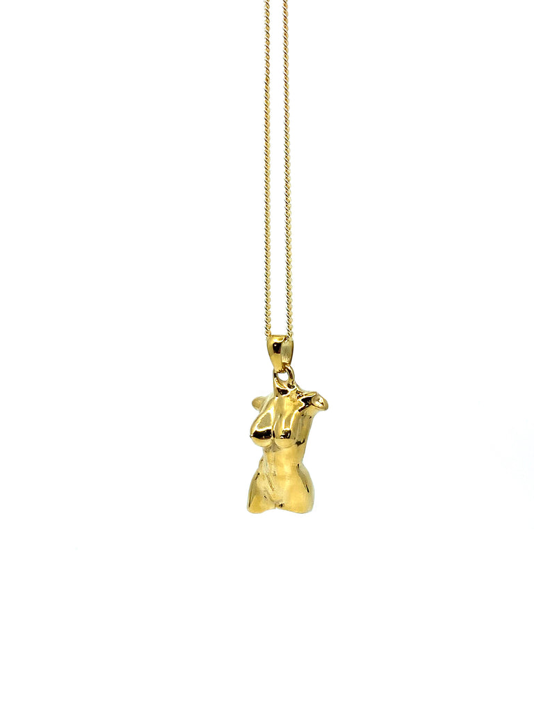 The Gold Femme Bust Chain