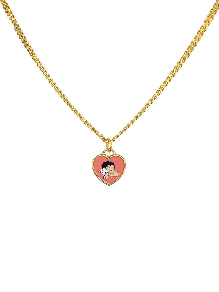 The Gold Love of My Life Chain (Customizable)