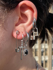 The Literal Safety Pin Earrings