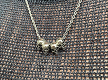 Load image into Gallery viewer, The Gothic Skull Necklace