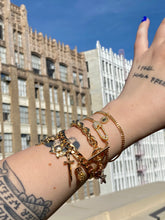 Load image into Gallery viewer, The Gold Charm Bracelet (Customizable)