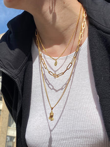 The Gold Prayin For You Chain