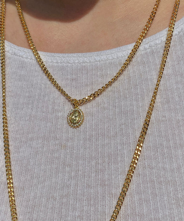 The Gold Baby Bling Necklace