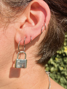 The Angel Lock Hoops