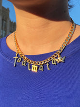 Load image into Gallery viewer, The Gold Gothic Yummy Chain (Customizable)