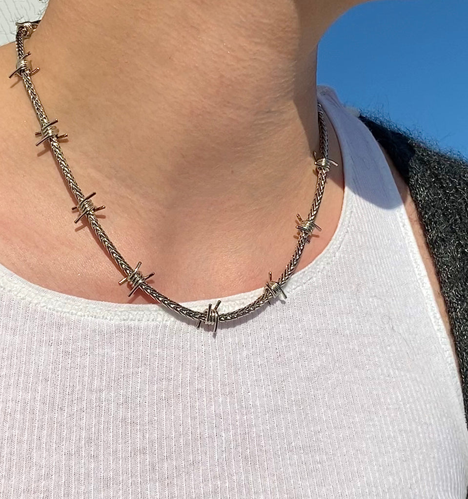 The Barbed Wire Chain