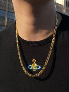 The Gold Curb Chain